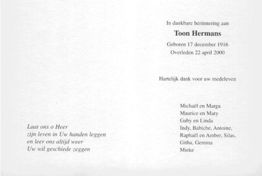 Voorkeur Gedichten Toon Hermans HJ46 | Belbin.Info #IH81